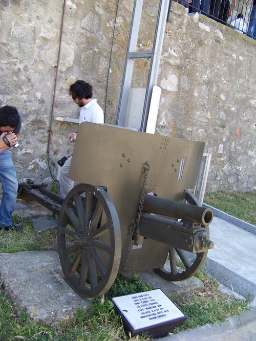 Çanakkale Gezisi 2011 - 1910 Yapımı Fransız Dağ Topu