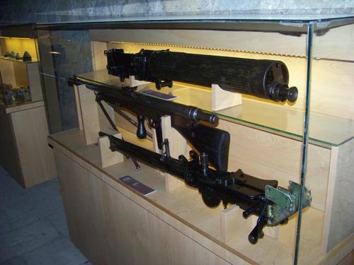 Çanakkale Gezisi 2011 - Makineli Tüfekler