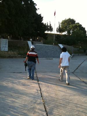 Çanakkale Gezisi 2011 - Kumkale Mezarlığı